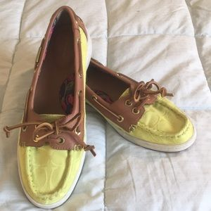 Coach Richelle Topsider Boat Shoes
